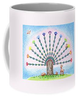 Chakra Tree Coffee Mug