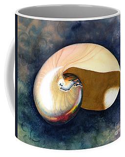 Chambered Nautilus Coffee Mug by Barbara Jewell