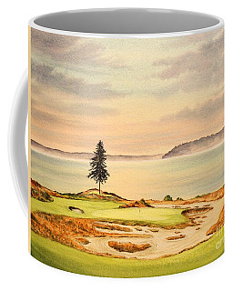 Chambers Bay Golf Course Hole 15 Coffee Mug