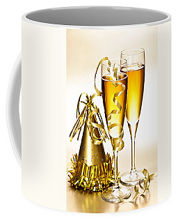 Champagne And New Years Party Decorations Coffee Mug