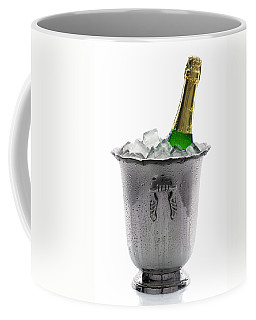 Champagne Bottle On Ice Coffee Mug