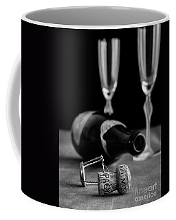 Champagne Bottle Still Life Coffee Mug
