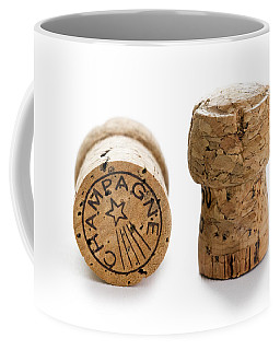 Coffee Mug featuring the photograph Champagne Corks by Lee Avison