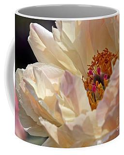 Champagne Peony Coffee Mug
