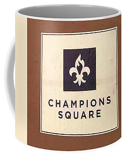 Champions Square Coffee Mug by Deborah Lacoste