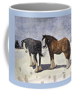 Chance Of Flurries Coffee Mug