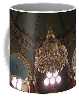 Chandelier Of Sofia Synagogue Coffee Mug