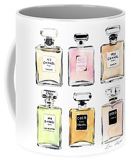 Chanel Perfumes Coffee Mug
