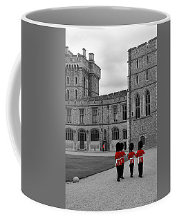 Changing Of The Guard At Windsor Castle Coffee Mug