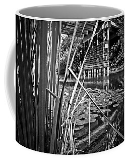 Coffee Mug featuring the photograph Channel by Adria Trail
