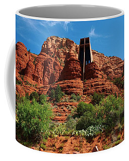 Coffee Mug featuring the photograph Chapel Of The Holy Cross by Dany Lison