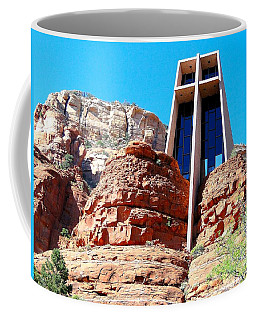 Chapel Of The Holy Cross Sedona Coffee Mug