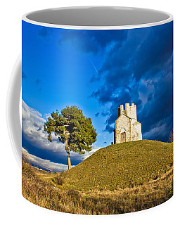 Chapel On Green Hill Nin Dalmatia Coffee Mug