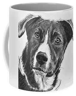 Charcoal Dog Shepherd Coffee Mug
