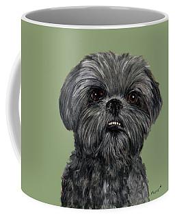 Charcoal Shih Tzu  Coffee Mug