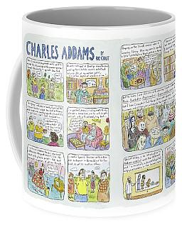 Charles Addams Coffee Mug