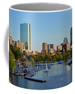 Charles River At Sunset Coffee Mug