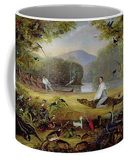 Charles Waterton Capturing A Cayman, 1825-26 Coffee Mug