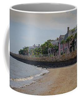 Coffee Mug featuring the photograph Charleston Battery by Serge Skiba