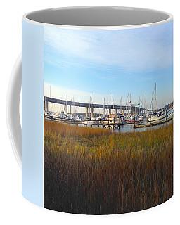 Charleston Harbor And Marsh Coffee Mug