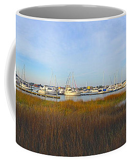 Charleston Harbor Panorama Coffee Mug by M West
