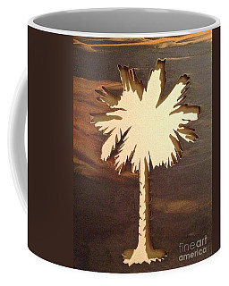 Charleston Palmetto Coffee Mug by M West