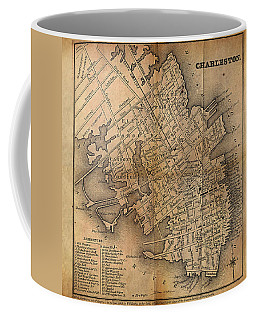 Charleston Vintage Map No. I Coffee Mug