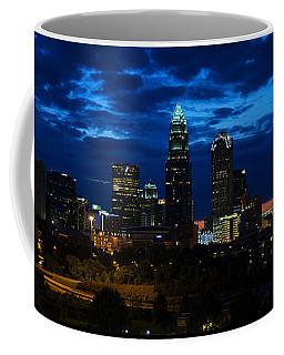 Charlotte North Carolina Panoramic Image Coffee Mug