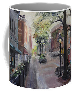 Charlottesville's Historic Downtown Mall Coffee Mug by Donna Tuten