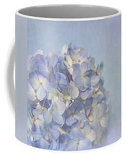 Coffee Mug featuring the photograph Charming Blue by Kim Hojnacki