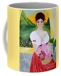 Charming Woman. Inspirations Collection. Coffee Mug
