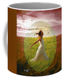 Chasing Butterflies Coffee Mug