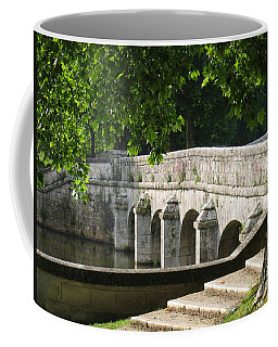 Chateau Chambord Bridge Coffee Mug by HEVi FineArt