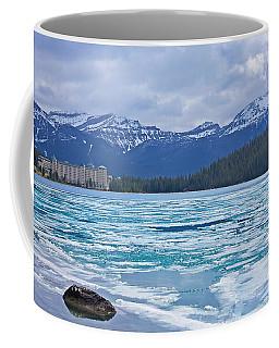 Chateau Lake Louise #2 Coffee Mug by Stuart Litoff
