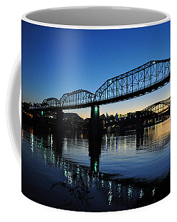 Tennessee River Bridges Chattanooga Coffee Mug