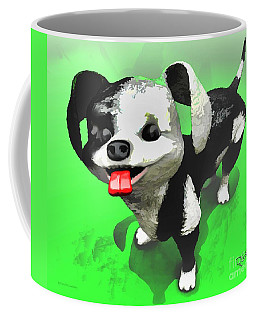 Coffee Mug featuring the painting Checkmate by Dave Luebbert