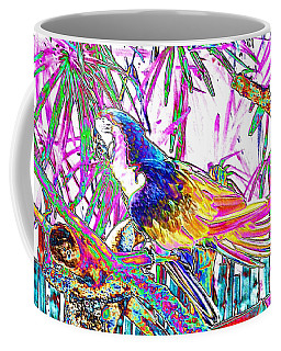 Cheerful Parrot. Colorful Art Collection. Promotion - August 2015 Coffee Mug