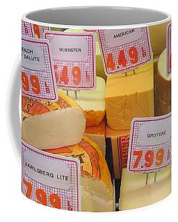 Cheese Display Coffee Mug