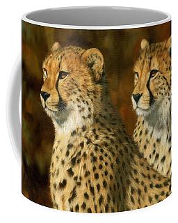 Cheetah Brothers Coffee Mug