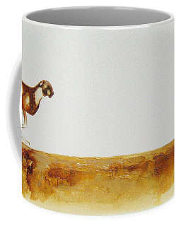 Cheetah Race - Original Artwork Coffee Mug