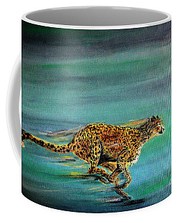 Cheetah Run Coffee Mug