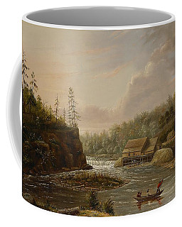Cheevers Mill On The St. Croix River Coffee Mug