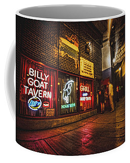 Cheezborger Cheezborger At Billy Goat Tavern Coffee Mug