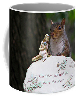 Coffee Mug featuring the photograph Cherished Friendships by John Haldane