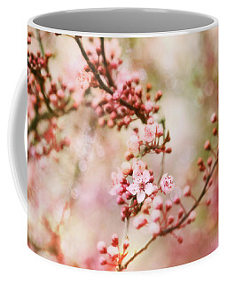Coffee Mug featuring the photograph Cherry Blossoms In Spring by Peggy Collins