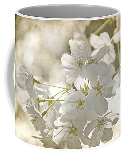 Cherry Blossoms Coffee Mug by Peggy Hughes