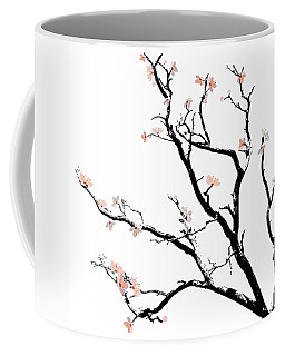 Cherry Blossoms Tree Coffee Mug by Gina Dsgn