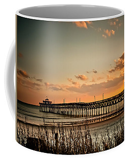 Cherry Grove Pier Myrtle Beach Sc Coffee Mug