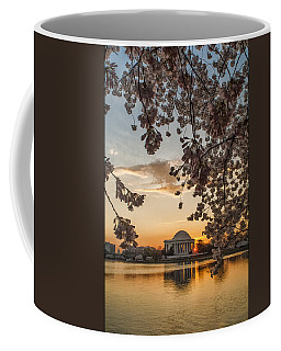 Cherry Sunrise Burst Coffee Mug