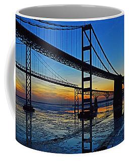 Chesapeake Bay Bridge Reflections Coffee Mug